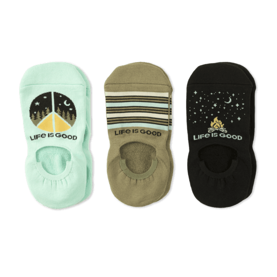 Women's 3-Pack Cushioned No Show Socks