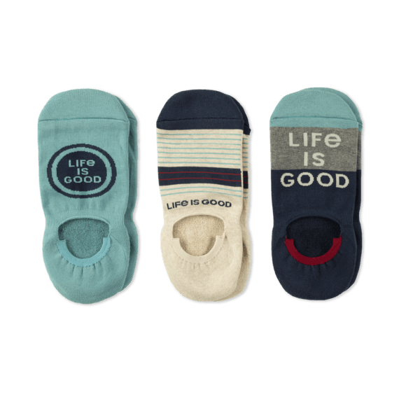 Men's 3-Pack Cushioned No Show Socks