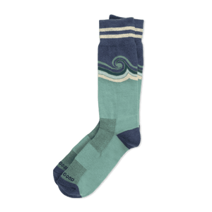 Men's Wave Cushioned Crew Socks