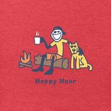 Men's Vintage Happy Hour Crusher Tee