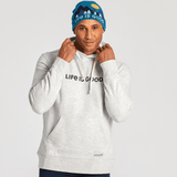 Men's LIG Horizontal Simply True Fleece Hoodie