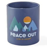Peace Out Mountains Soy Candle