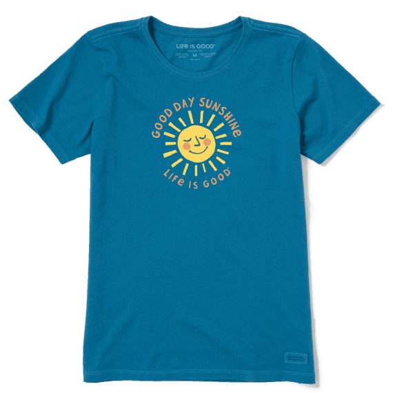 Women's Good Day Sunshine Crusher Tee