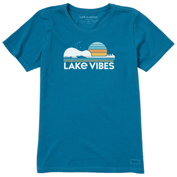 Women's Guitar Lake Vibes Crusher Tee