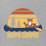 Women's Happy Camper Fox Crusher Tee