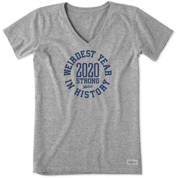 Women's Weirdest Year In History 2020 Crusher Vee