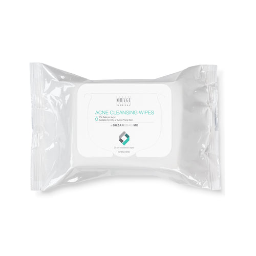 SUZANOBAGIMD Acne Cleansing Wipes by hoodermatology.com
