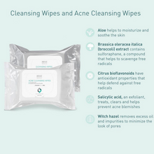 Load image into Gallery viewer, SUZANOBAGIMD Acne Cleansing Wipes