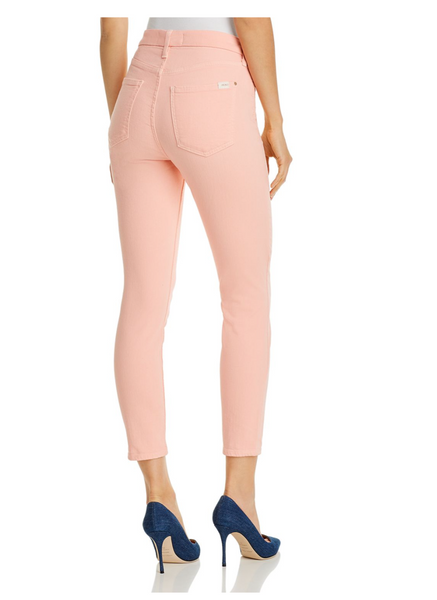 HIGH WAIST SKINNY ANKLE STRETCH JEANS