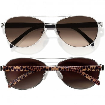 SUGAR SHACK SUNGLASSES - LEOPARD