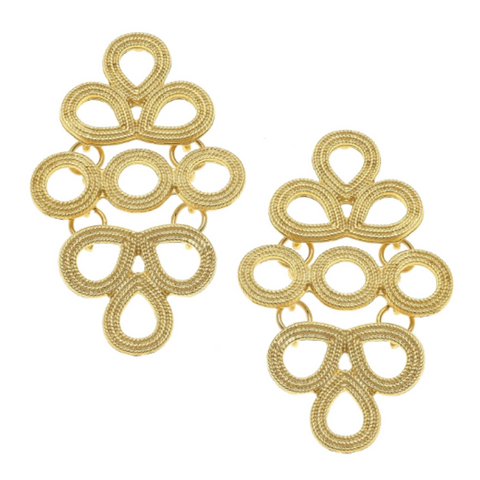 EMMA MULTI CIRCLE POST EARRINGS