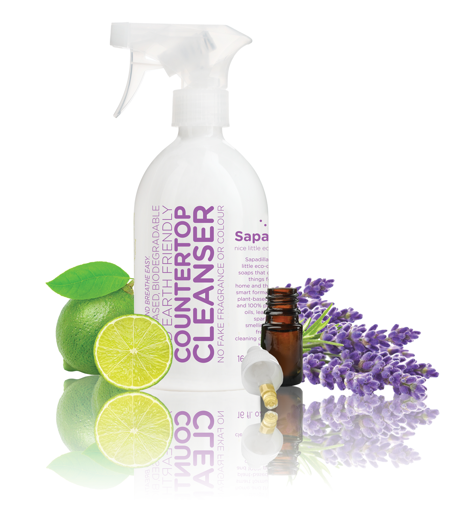 COUNTERTOP CLEANSER - SWEET LAVENDER & LIME