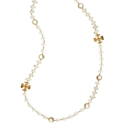 ROXANNE LONG NECKLACE - GOLD