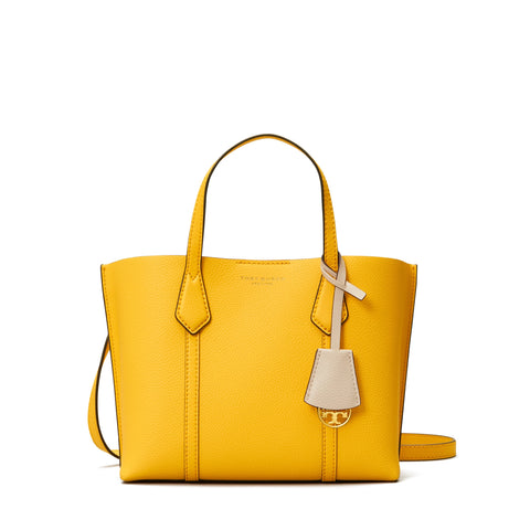 PERRY SMALL TRIPLE - COMPARTMENT TOTE - LEMON DROP