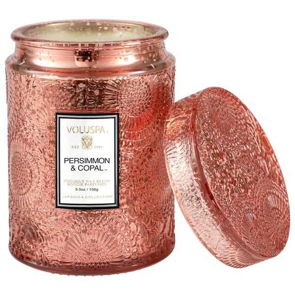 PERSIMMON & COPAL SMALL JAR CANDLE
