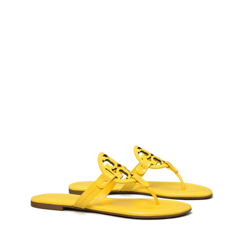 MILLER SANDAL PATENT LEATHER - LIMONE