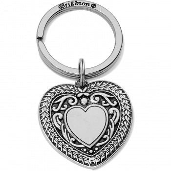 MEDAILLE HEART KEY FOB