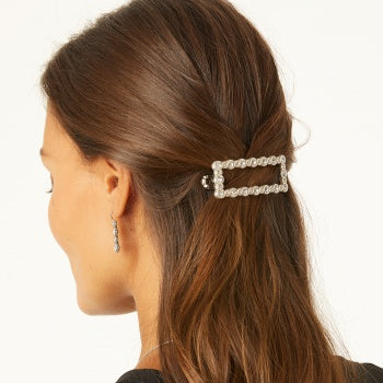 INIFINITY SPARKLE LARGE BARRETTE