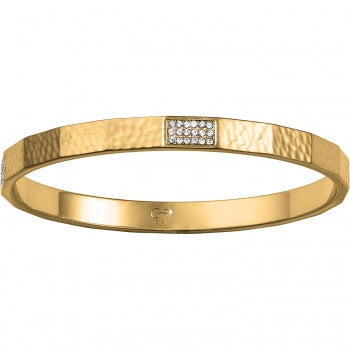 MERIDIAN ZENITH FACETED BANGLE