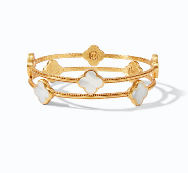 CHLOE BANGLE - PACIFIC BLUE