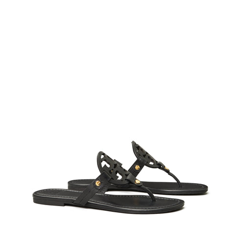 MILLER SANDAL LEATHER - BLACK