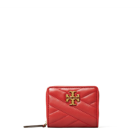 KIRA CHEVRON BI - FOLD WALLET - RED APPLE