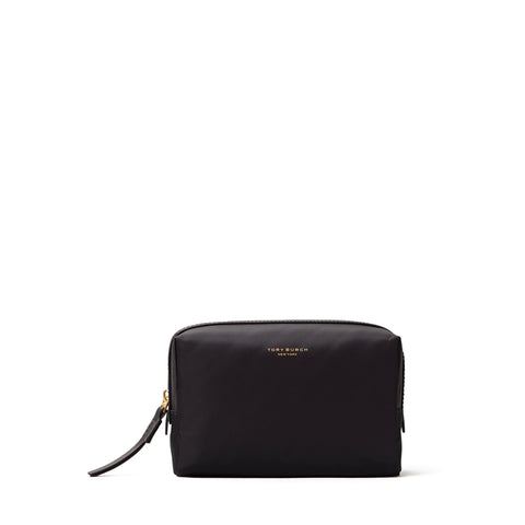 PERRY NYLON SMALL COSMETIC CASE - BLACK