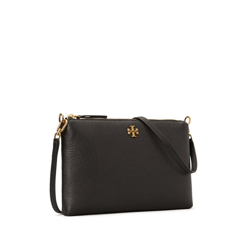 KIRA PEBBLED CROSSBODY - BLACK
