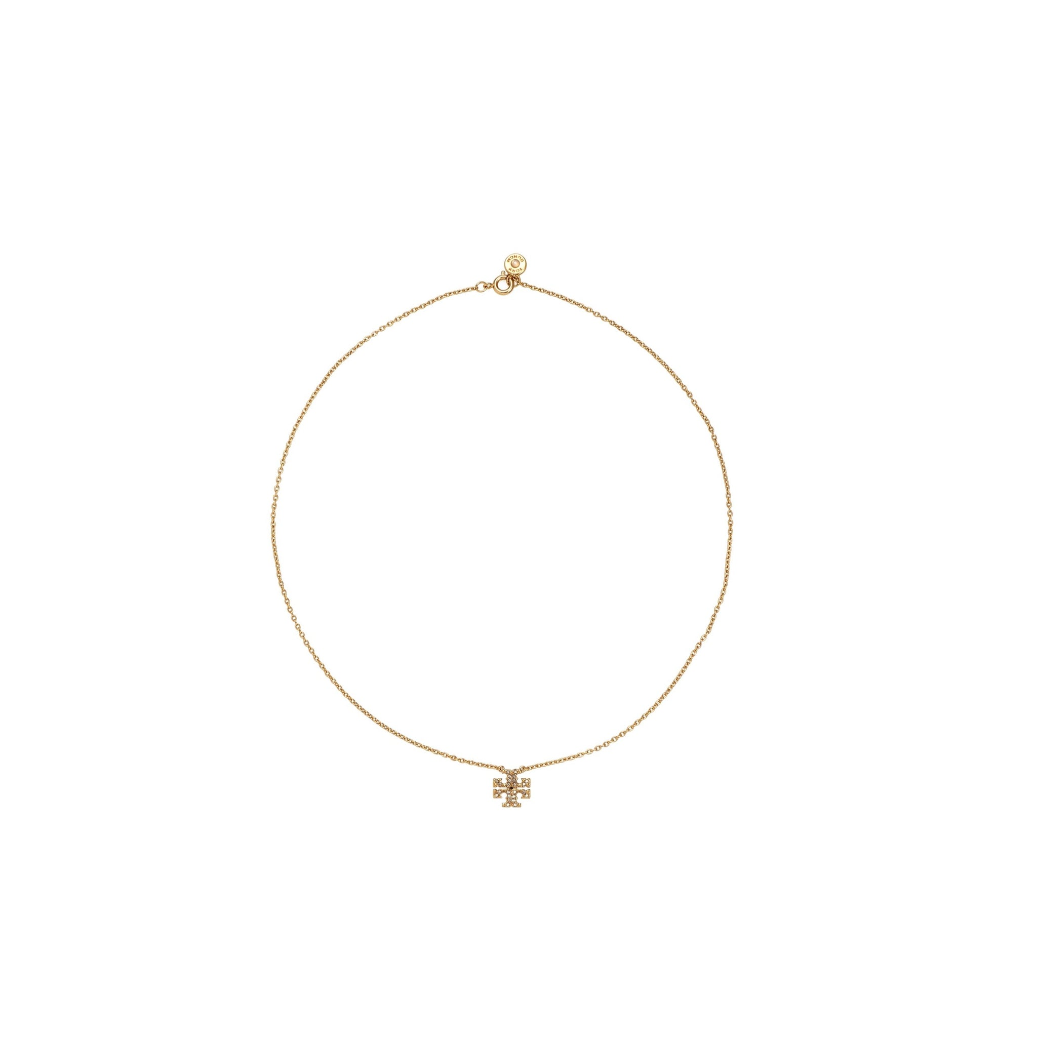 KIRA PAVE DELICATE NECKLACE - GOLD