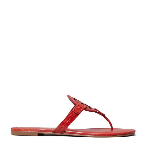 MILLER SANDAL LEATHER - POINSETTIA