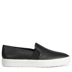 BLAIR PERFORATED LEATHER SNEAKER - BLACK