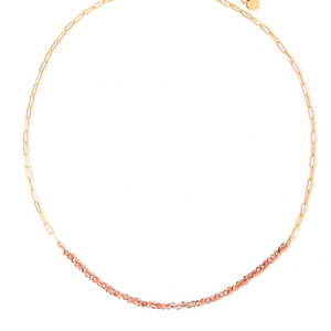 LILA ROSE BEADED NECKLACE