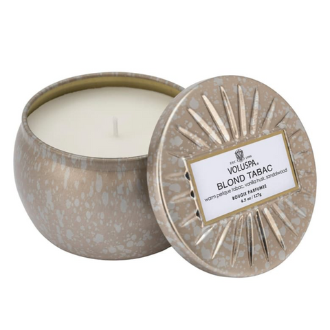 BLOND TABAC - PETITE TIN CANDLE