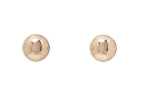 CLASSIC 6MM BALL STUD - GOLD