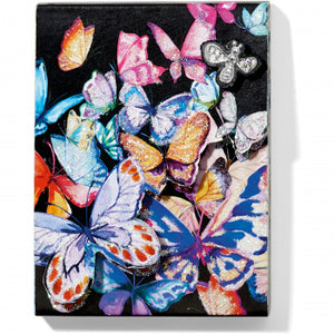 ENCHANTED GARDEN BUTTERFLY NOTEPAD