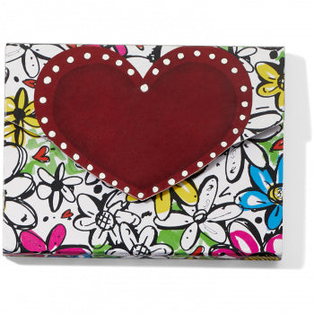FASHIONISTA LOVE HEART NOTEPAD