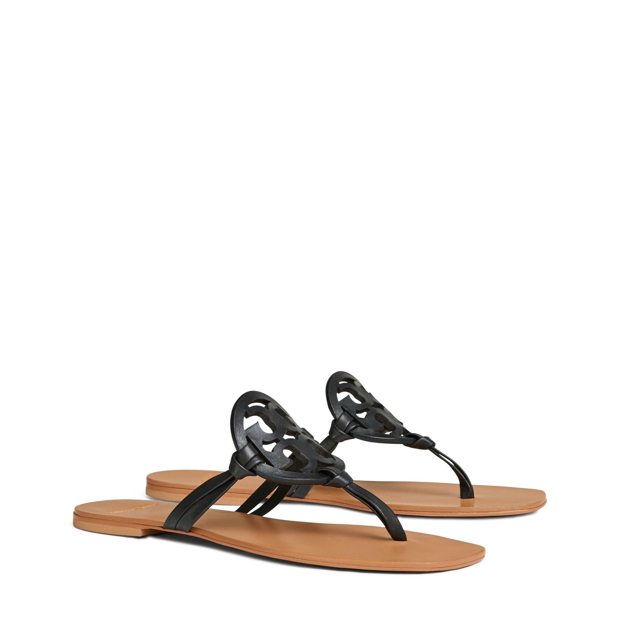 MILLER SANDAL SQUARE TOE - BLACK