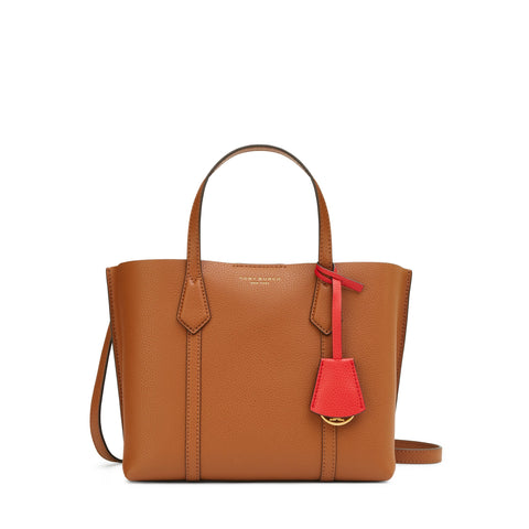 PERRY SMALL TRIPLE - COMPARTMENT TOTE - LIGHT UMBER