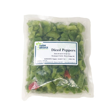 Frozen Diced Peppers 10oz