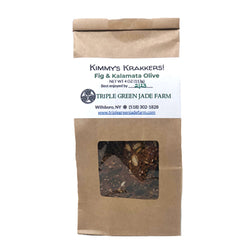 Crackers,Mission Fig & Kalamata Olive 4oz
