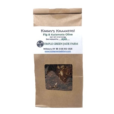 Mission Fig & Kalamata Olive Crackers 4oz