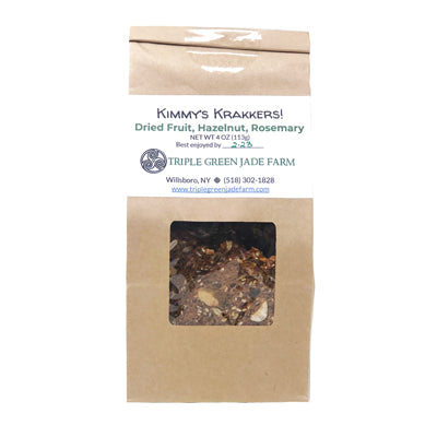 Hazelnut & Rosemary Crackers 4oz