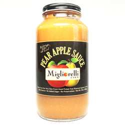 Pear Apple Sauce 24oz jar