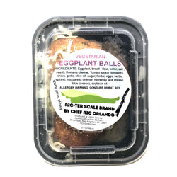 Vegetarian Fried Eggplant Balls Parmigiana 32oz
