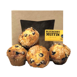 Artisan Blueberry Muffin 4 Pack 1.5lb