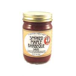 Barbeque Sauce, Smoked Maple Syrup 14oz