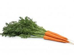 Bunched Carrots 1 bunch