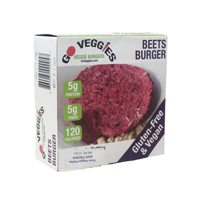 Veggie Patties, Beet 12.8oz