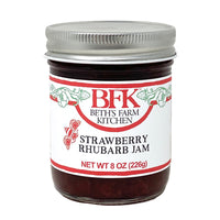 Jam Strawberry Rhubarb 8oz
