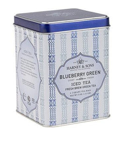 Blueberry Green Fresh Brew Iced Tea  6 (2 Quart Tea Bags)